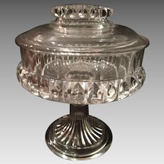 EAPG Cordova Straight-Sided 6-Inch Covered Compote