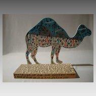 The Desert Taxi (Camel) by legendary Howard Finster