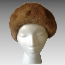 Mr. John Autumn Haze Mink Cloche Hat