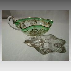 Moser Footed Sauce Boat