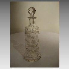 Biddle's Satisfaction Bouquet – Perfume Bottle / Decanter
