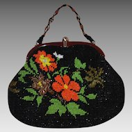 1960s Beaded Bag – Deco Style