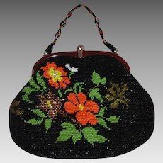 1960s Beaded Bag – Deco Style