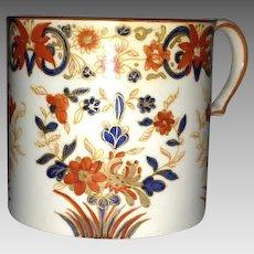 18th C. Wedgwood Imari Style Décor Pearlware Cann