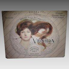 Flapper Era 1920's Venida Hair Net - Unused