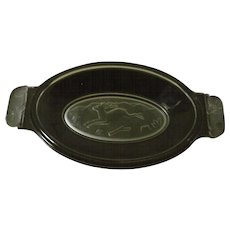 EAPG Westward Ho Pickle Dish