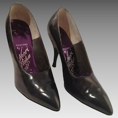 1950's Henri Flatow Midnight Navy Pumps