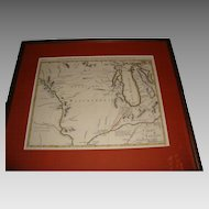 Antonio Zatta 1769 Map of Indian Nations of Upper Mississippi Valley and Lake Michigan Regions