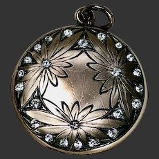 Art Nouveau Locket Gold Filled c1920's