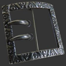 Art Nouveau Sterling Pin Early 20th Century