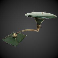 Mid Century Modern MCM Space Age Design Desk Lamp c1950's