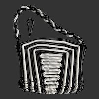 Telephone Cord Purse Handbag Coil Bag Rockabilly c1940's/50's