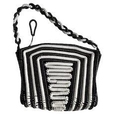 Telephone Cord Purse Handbag Coil Bag Rockabilly c1940's/50's