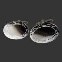 Cufflink Set Sterling Silver by Hayward c1990's