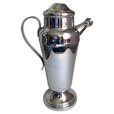 Chrome Cocktail Shaker Mid-Century c1950's
