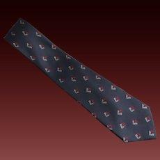 Valentino Tie Necktie Silk Made in Italy c1990's