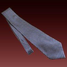 Geoffrey Beene Tie Necktie Silk c1980's