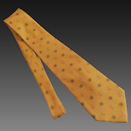 Salvadore Ferragamo Tie Necktie Men's Italian Silk c1980's