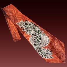 Tie Necktie Men's Vintage Art Deco c1940's