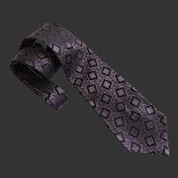 Tie Necktie Men's Vintage Silk Calvin Klein c1990's