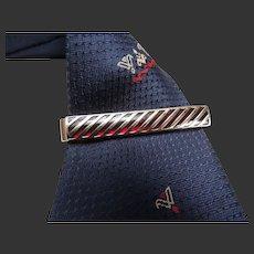Tie Bar Gold Filled Mid-Century Modern Design c1950's