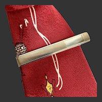 Tie Bar Gold Tone c1940's