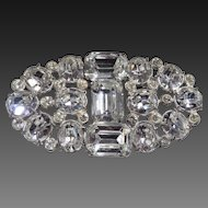 Magnificent Art Deco Rhinestone Pin c1920's