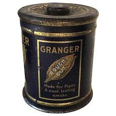 Granger Rough Cut Tobacco Tin