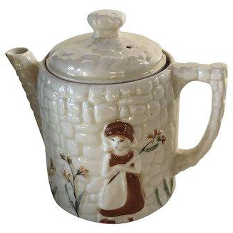 Porcelier Cobblestone Tea Pot