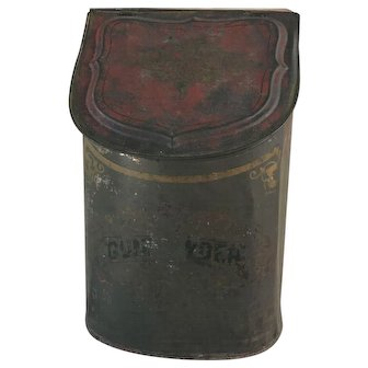 Antique General Store Gunpowder Tea Tin