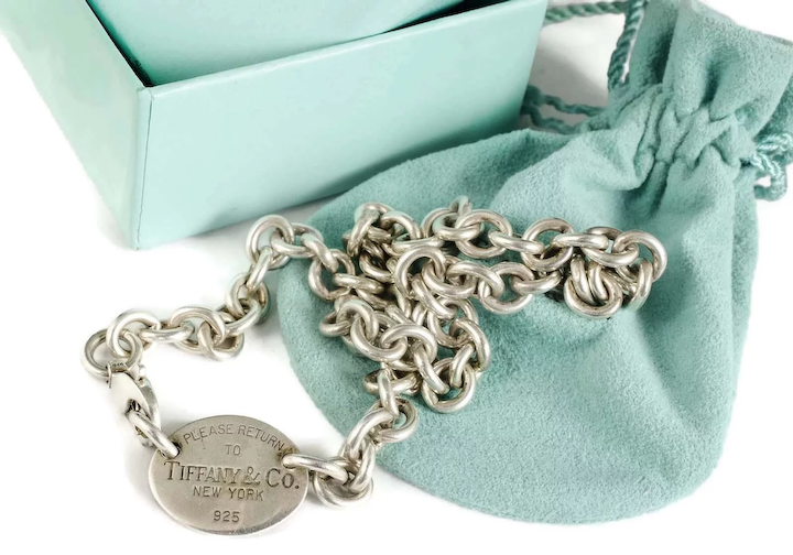 7d25630ac Return to Tiffany sterling silver Necklace with box pouch : One Good ...