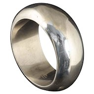 massive Patricia von Musulin sterling silver Bangle Bracelet