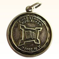 SALE!  Vintage Bruce Sterling Fort Stanwix Rome N.Y. Charm, Aug. 3, 1777