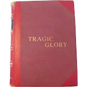 "Rare Book Autographed Tragic Glory Bullfighting Biography, 1960, by Valeriano Salceda ""Giraldes"""