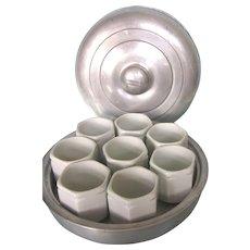 SALE!  Scarce French Yalacta Yogurt Maker COMPLETE Set With Porcelain Cups
