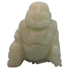 """Vintage Jade 2-1/4"""" Buddha Statuette"""