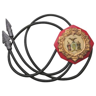 Fascinating and Unusual Vintage New York Excelsior Bolo