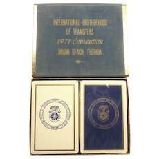 1971 Teamsters Convention Playing Cards