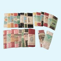 Collection of Vintage Sewing Trim - Rick Rack in Many Colors and Widths