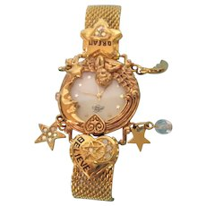 Gorgeous Kirks Folly K94 Angel Time Wristwatch - Original Box