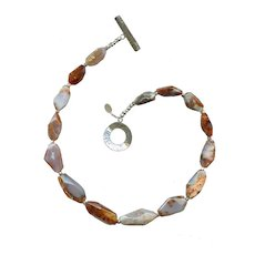 Tingitane Necklace, Berber agate.