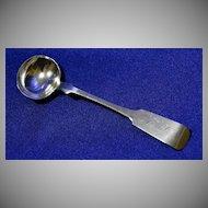 Coin Silver Master Salt Spoon