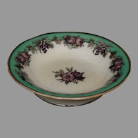 """Beautiful English Compote in """"Roses"""" Pattern by Hancock Whittingham - ca. 1875"""