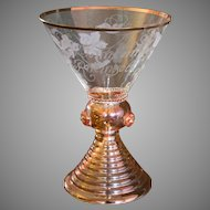 Sohnlein Rheingold Wine Glass