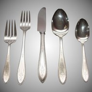 Argosy Silverplate Service for Six - 38 Pieces