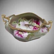 Nippon Morimura Bros Hand Painted Floral Bowl