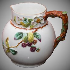 Bodley Majolica Small Pitcher or Creamer