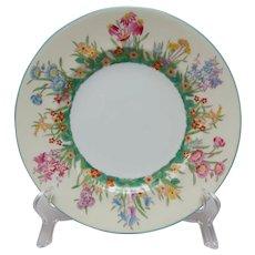Wedgwood Prairie Flowers Salad Plate