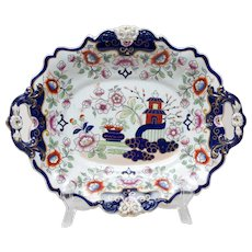 Hicks, Meigh and Johnson Helter Skelter Dish