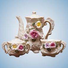 Elegant Vintage Doll or Child's Tea Set